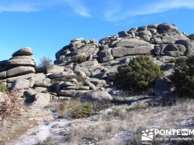 Senderismo Sierra de la Cabrera; excursiones guadalajara; ruta por patones